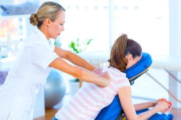 Mobiler Massageservice am Arbeitsplatz